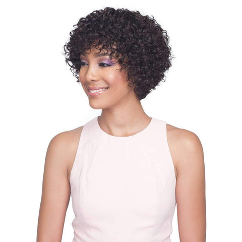 Image of H/H Wig Cardi  100% Remi Human Hair Wig |  Bobbi Boss Wig - African American Wigs