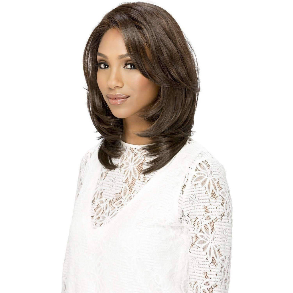 HM-SEPHORA Synthetic  Layered Bump Ends Style Wig - Vivica Fox - African American Wigs