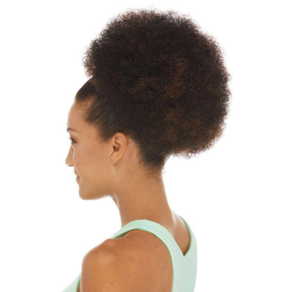 HP VICTORY Synthetic Drawstring Afro Ponytail by Sepia