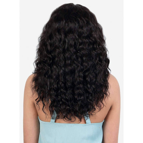 Image of HPL360.Ann - Long Length Wavy Persian Human Hair Wig | Motown Tress - African American Wigs