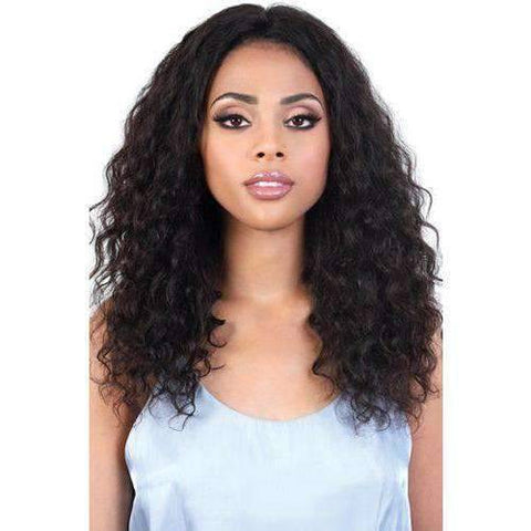 Image of HPL360.JAX - Long Length Wavy Persian Human Hair Wig | Motown Tress - African American Wigs