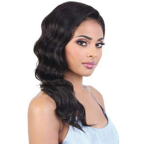 Image of HPL360.SYD - Long Length Wavy Persian Human Hair Wig | Motown Tress - African American Wigs