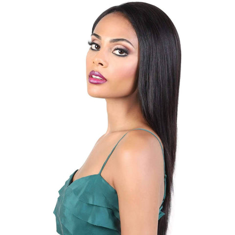 HPLP360.01 - Long Length Straight Persian Human Hair Wig | Motown Tress - African American Wigs
