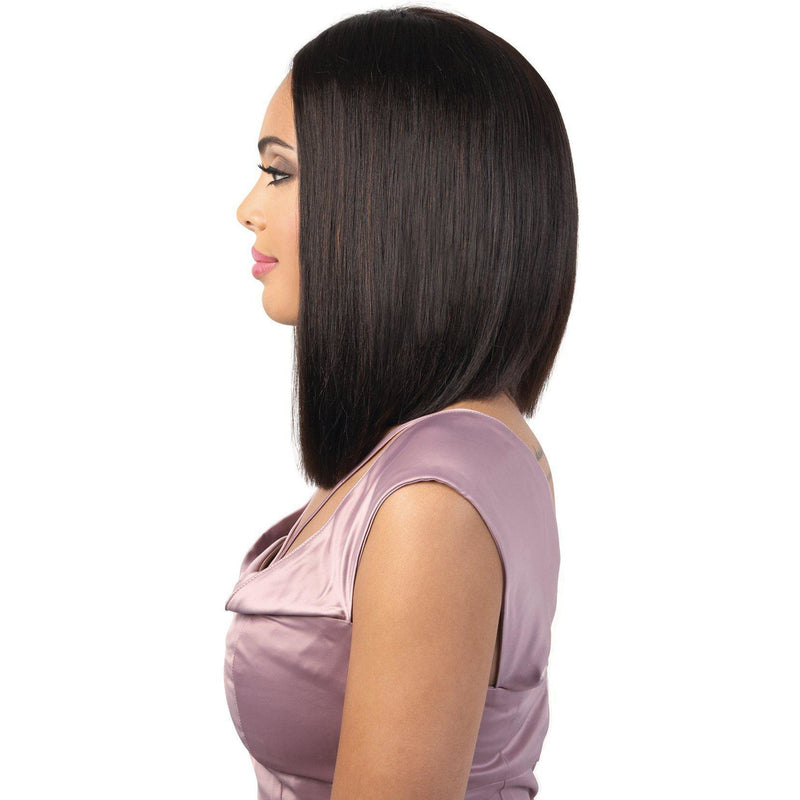 HPLP.GIGI - Persian Human Hair Straight Medium Length Wig | Motown Tress