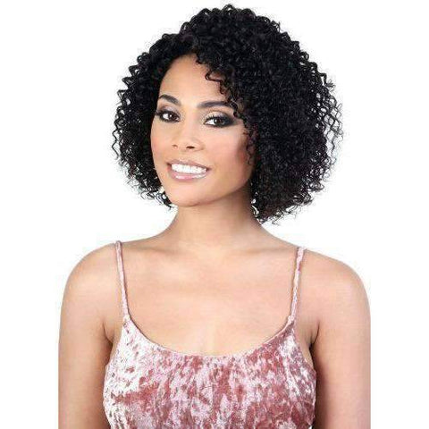 HPLP.Miko - Medium Length Curly Persian Human Hair Wig | Motown Tress - African American Wigs