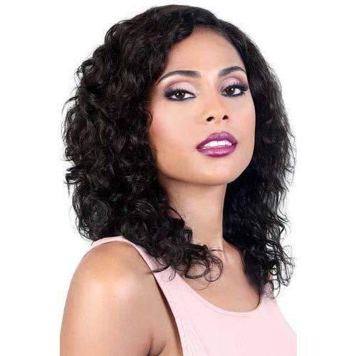 HPL.SPIN70 - Long Length Curly Persian Human Hair Wig | Motown Tress - African American Wigs
