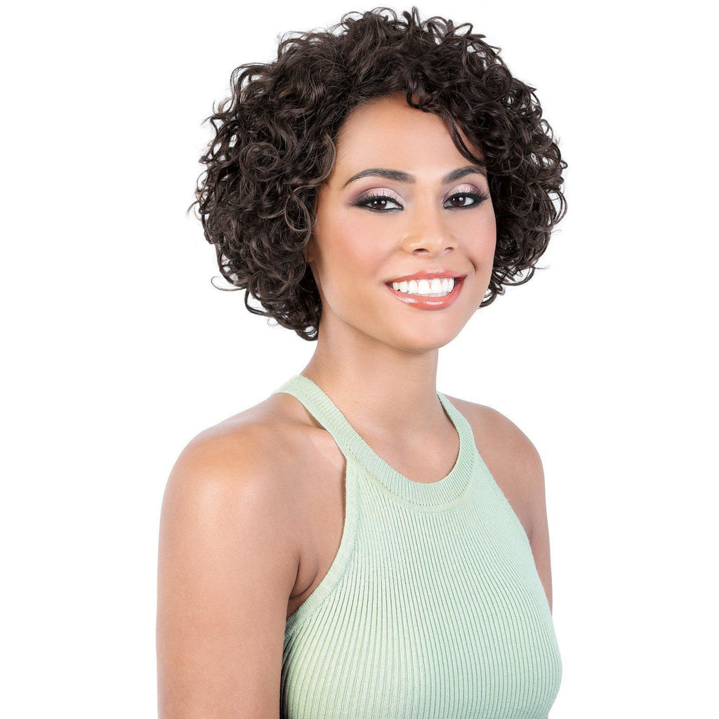 HPR.ASPEN - Short Length Curly Persian Human Hair Wig | Motown Tress