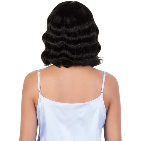 HPR.AVA- Persian Human Hair Medium Wavy Wig | Motown Tress
