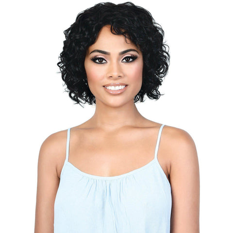 Image of HPR.GERI - Persian Human Hair Short Deep Twist Wig | Motown Tress