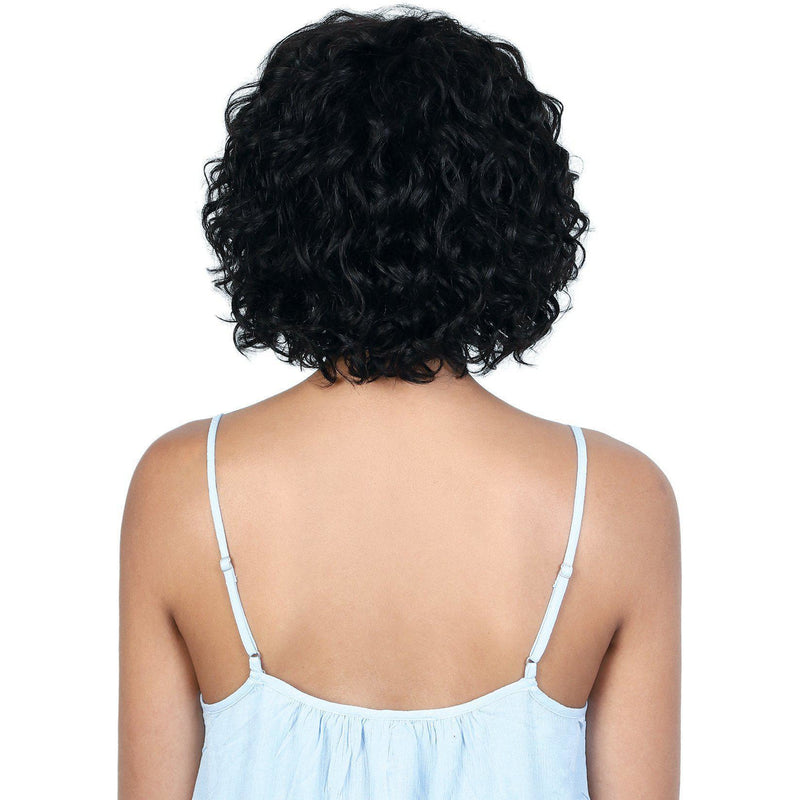 HPR.GERI - Persian Human Hair Short Deep Twist Wig | Motown Tress