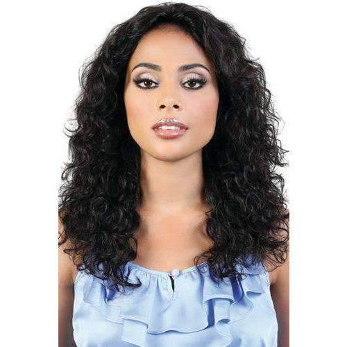 HPR.HAVANA - Long Length Curly Persian Human Hair Wig | Motown Tress - African American Wigs