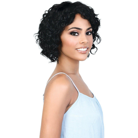 Image of HPR.YANI- Persian Human Hair Short Spiral Twist Wig | Motown Tress