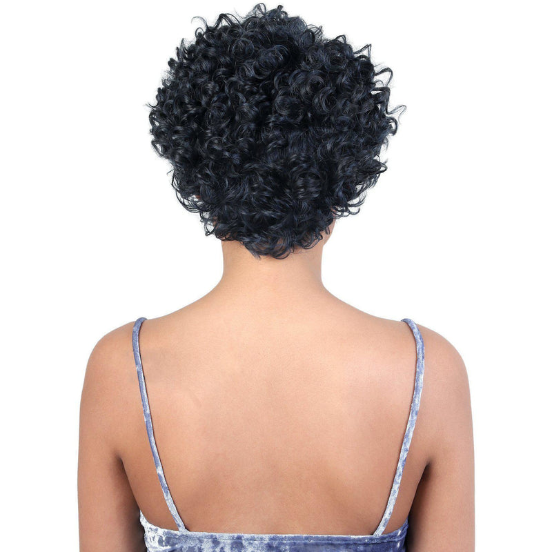 HPR.YANI- Persian Human Hair Short Spiral Twist Wig | Motown Tress