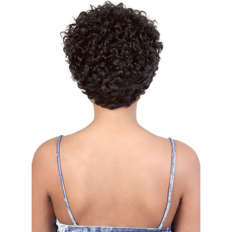 HPR.ZUZU - Persian Human Hair Short Curly Wig | Motown Tress