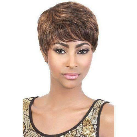 Image of HR. ALINA | Remy Human Hair Wig (Traditional Cap) - African American Wigs