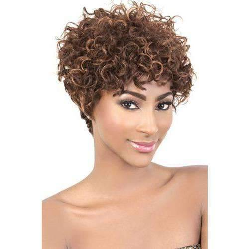 Motown Tress Remy Wig - HIR-Cute   COLOR: 1B   Remy wigs