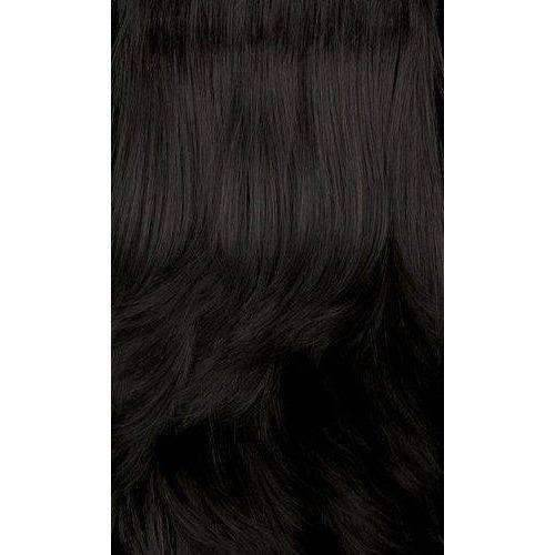H.Rubi-Motown Tress 100% Human Hair Wig Short in Color #1B - African American Wigs