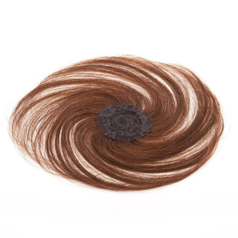 Image of Human Hairpiece Closure by Sepia