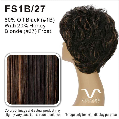 Image of HW810-V | Synthetic 3/4 Wig - African American Wigs