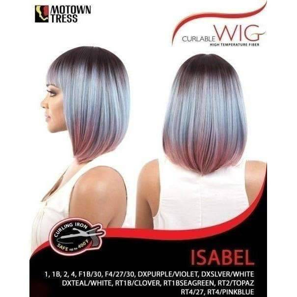 ISABEL | Heat Friendly Synthetic Wig (Traditional Cap) - African American Wigs