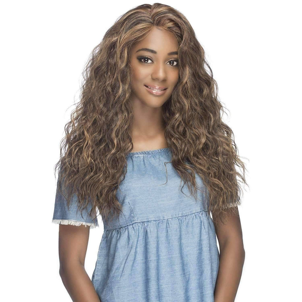 ISADORA Long Synthetic Braid Wig -Vivica Fox - African American Wigs
