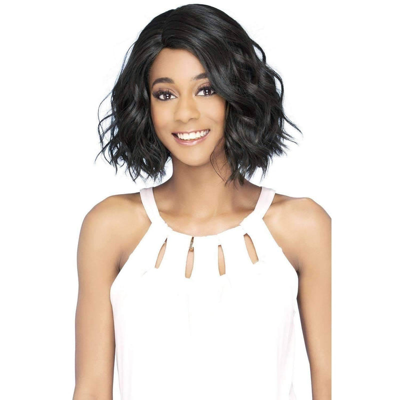 IVORY Layered Synthetic Body Wave Bob W/ Side - Vivica Fox - African American Wigs