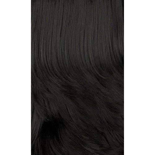 Ivory-Motown Tress 100% Human Hair Wig Short in Color #1 - African American Wigs