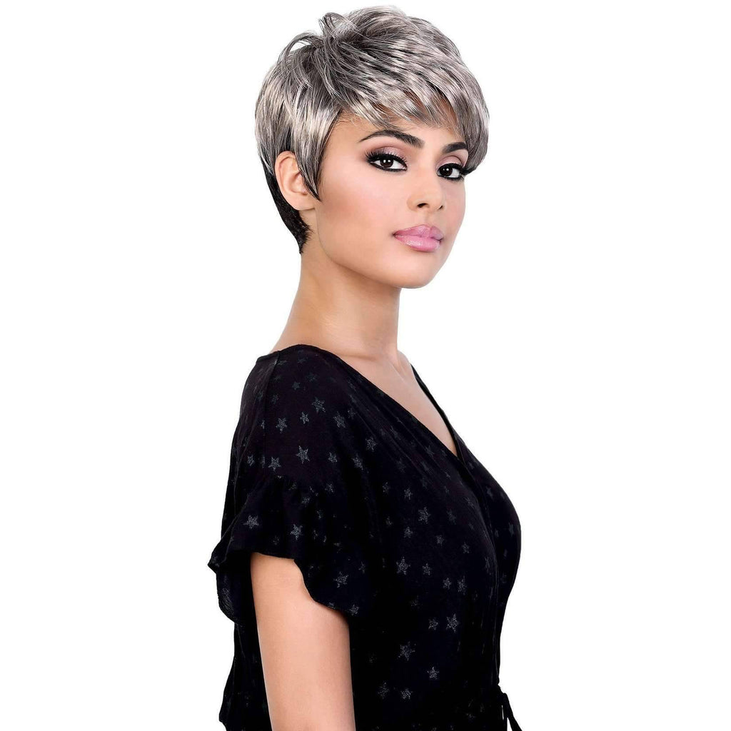 Jackie - Short Length Curly High Quality Synthetic Wigs | Motown Tress - African American Wigs
