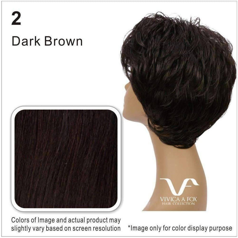 JAI-V | Synthetic Wig (Hand Made Traditional Cap) - African American Wigs