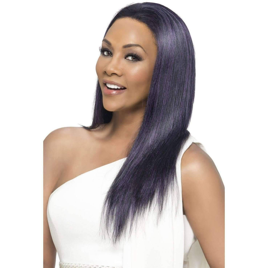 JAVANT-V | Heat Friendly Synthetic Wig (Lace Front Traditional Cap) - African American Wigs