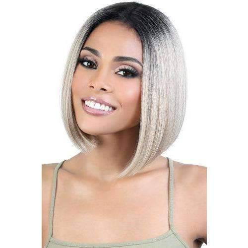 JET - Motown Tress Human Hair Premium Mix Lace Deep Part Wig - Medium Lenght Wig