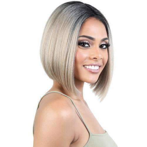 JET - Motown Tress Human Hair Premium Mix Lace Deep Part Wig - African American Wigs