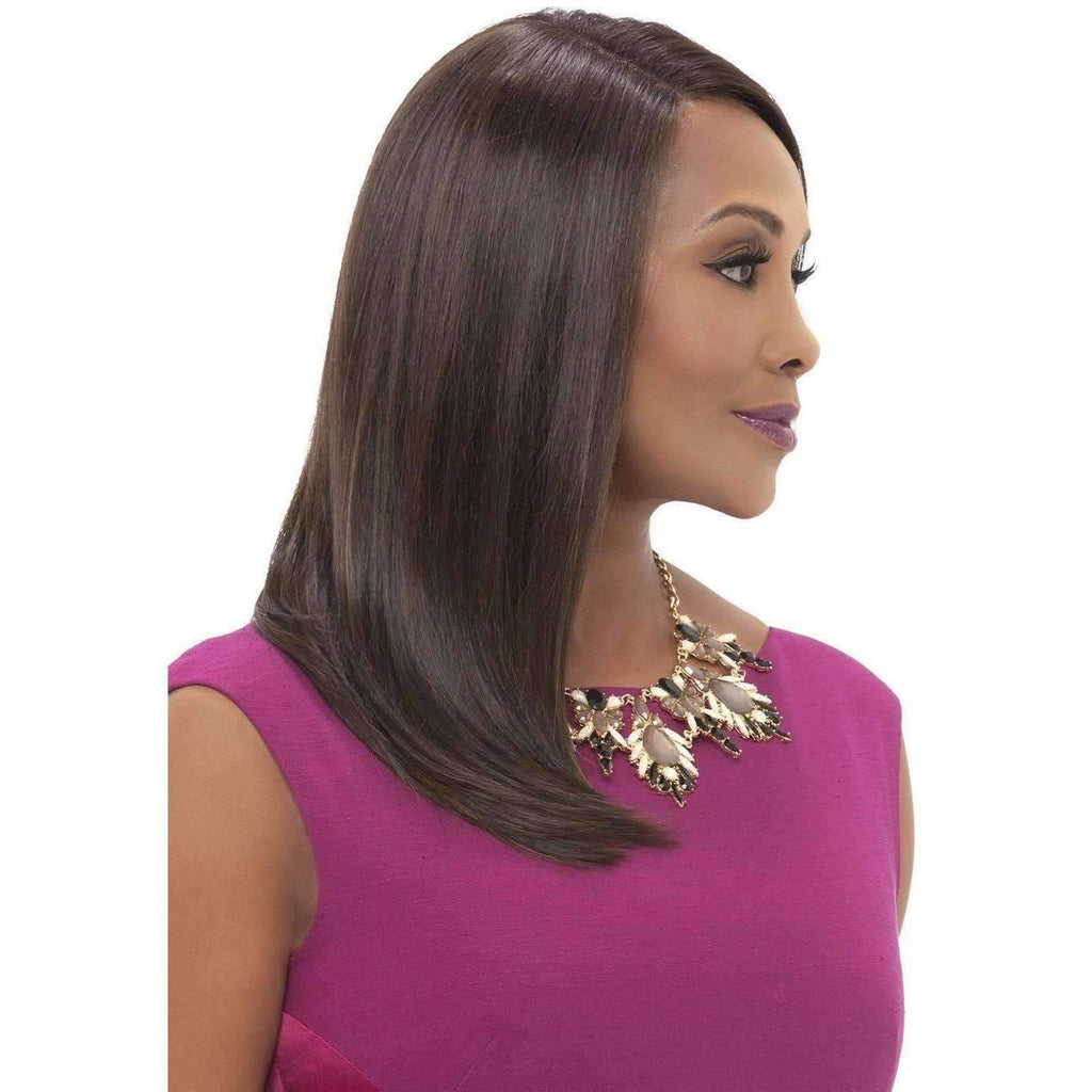 JILL | Heat Friendly Synthetic Wig (Lace Front Traditional Cap) - African American Wigs