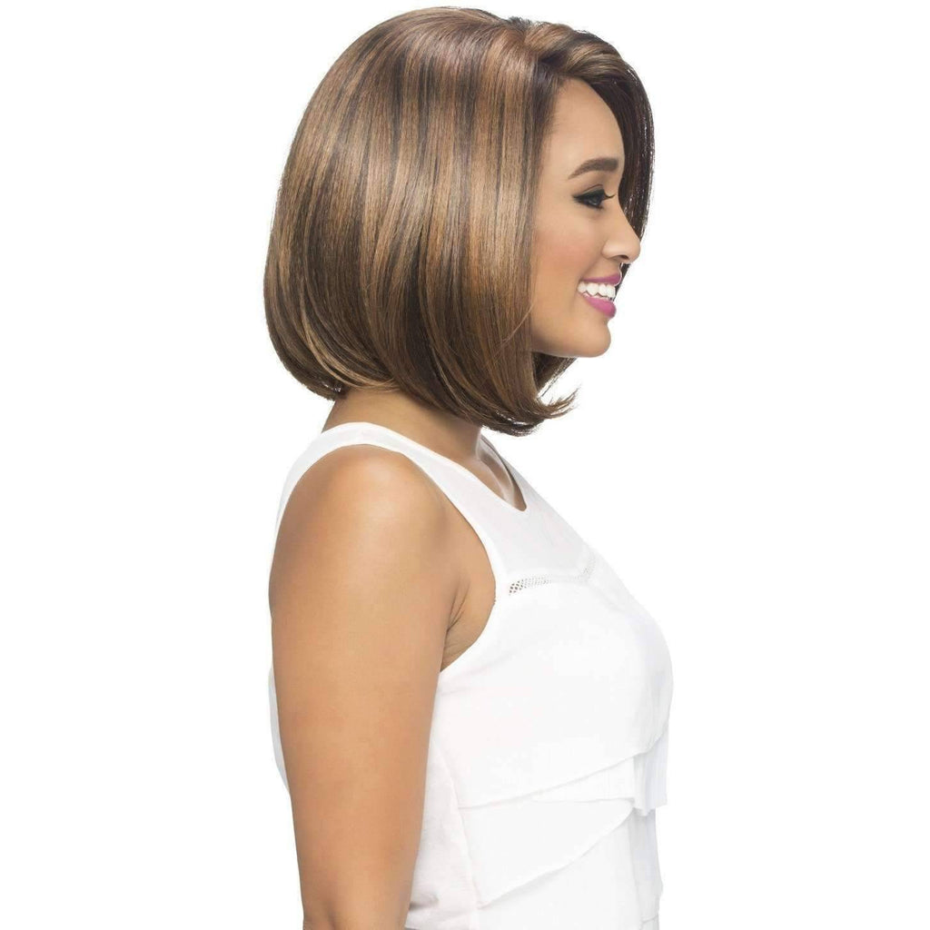 JINNY | Heat Resistant Synthetic Wig (Lace Front Traditional Cap) - African American Wigs