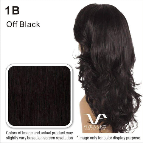 JOANNA-V | Heat Resistant Synthetic Wig (Lace Front Traditional Cap) - African American Wigs