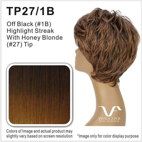 JOLEEN-V | Synthetic Wig (Traditional Cap) - African American Wigs