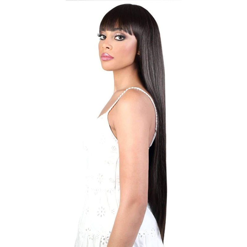 JULIET32 - Super Long Length Straight Synthetic Wig | Motown Tress - African American Wigs