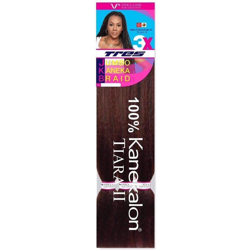 JUMBO KANEKALON BRAID 3 PACK | Heat Resistant Synthetic - African American Wigs