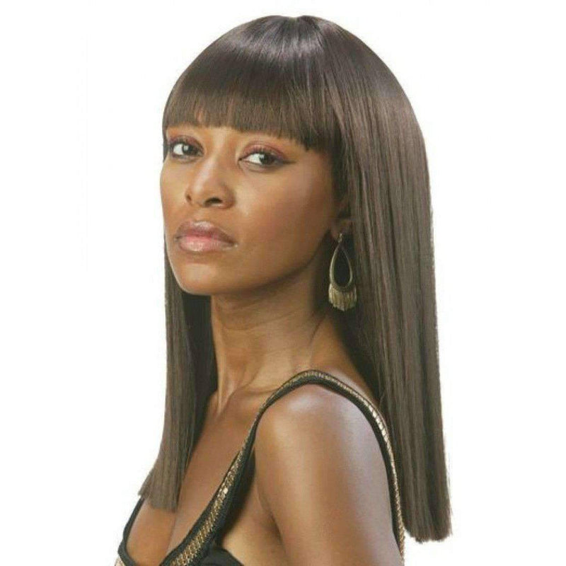Katsu-Motown Tress Synthetic Hair Wig Long in Color #4 - African American Wigs