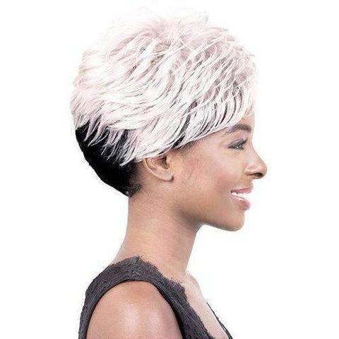 Image of Kelsi-Motown Tress Synthetic Hair Wig Short in Color #F4/27/30 - African American Wigs