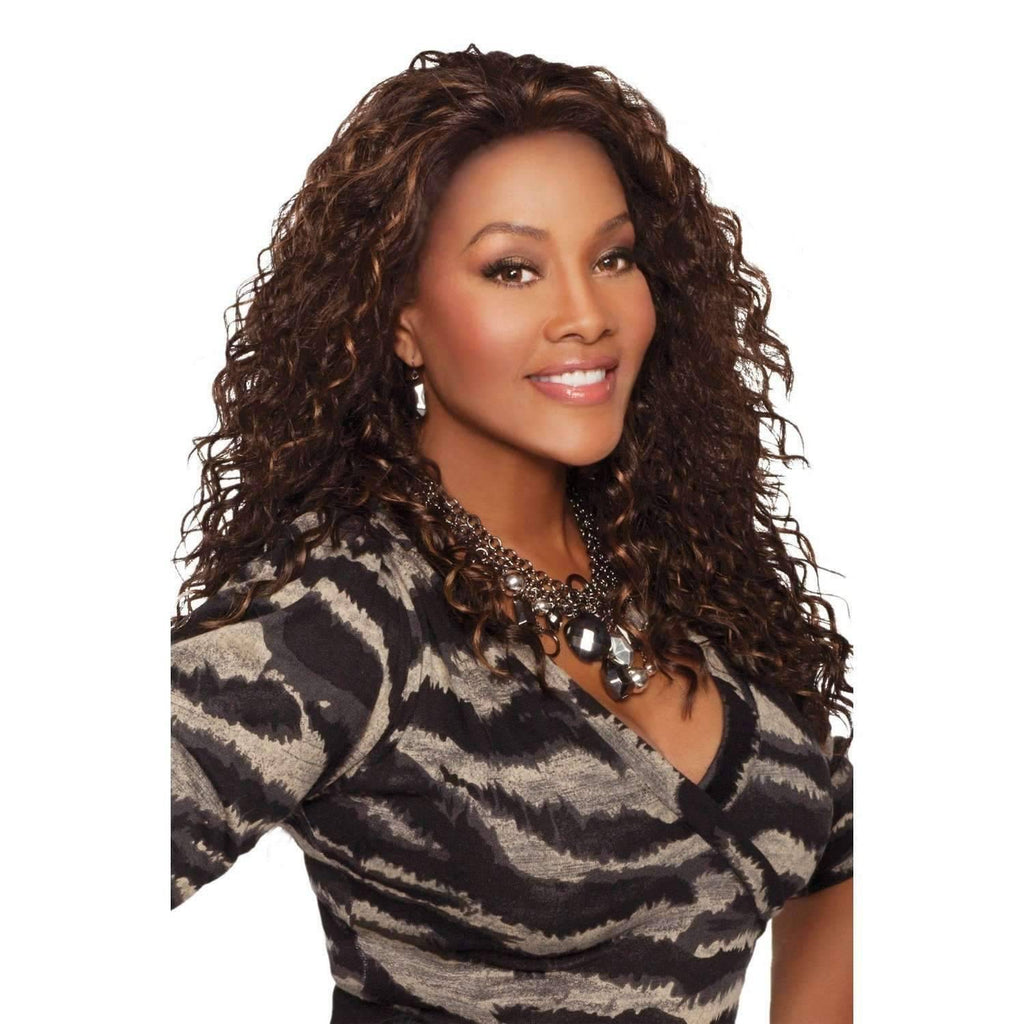 Kimora - Vivica Fox Lace Front Synthetic Wig - African American Wigs