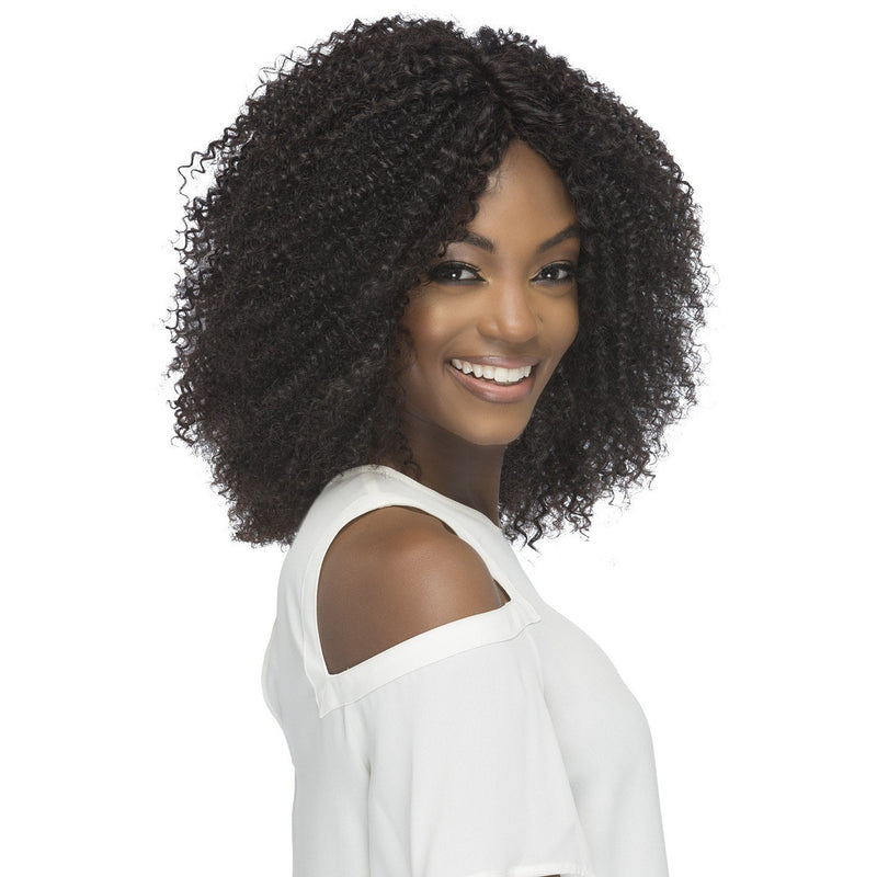 "9"" KINKY CURL CLIP WEAVE (7 PCS) 