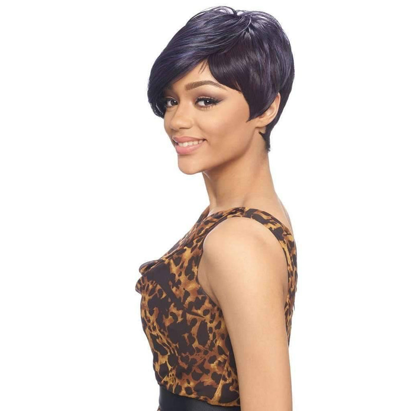 KW002 Short Pixie High Quality Synthetic Wigs - African American Wigs