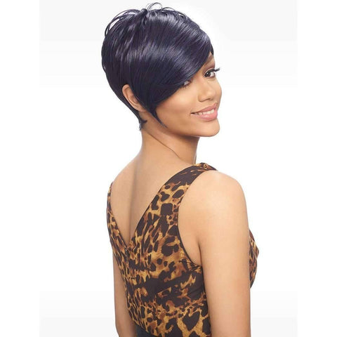 KW002 Short Pixie Wig Synthetic - African American Wigs