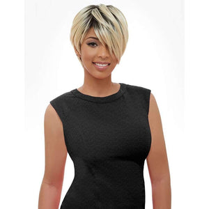 KW003 Short Pixie Wig Synthetic - African American Wigs