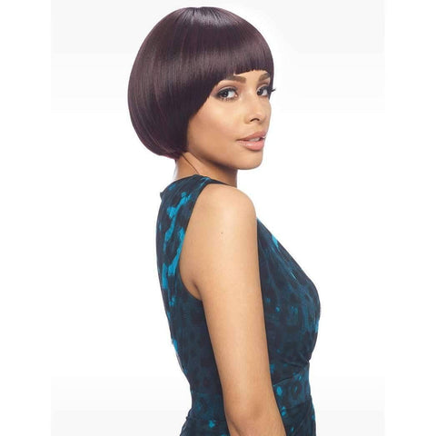 Image of KW101 Retro Short Bob Wig Synthetic - African American Wigs