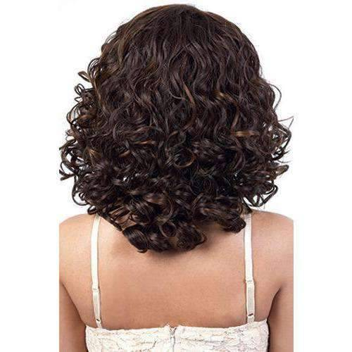 L. Alina - Long Length Curly Synthetic Wig | Motown Tress - African American Wigs