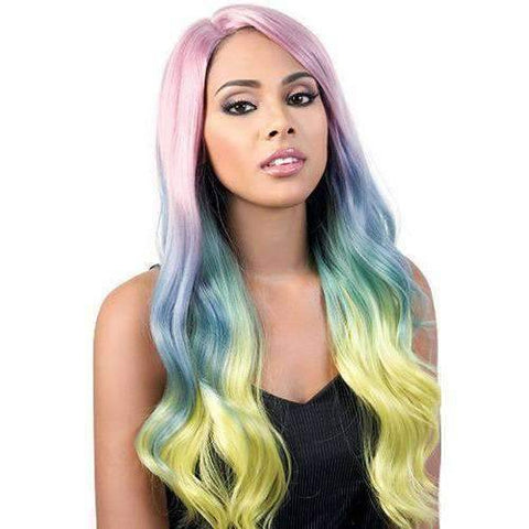 Image of L. Angelic - Long Length Wavy Synthetic Wig | Motown Tress - African American Wigs