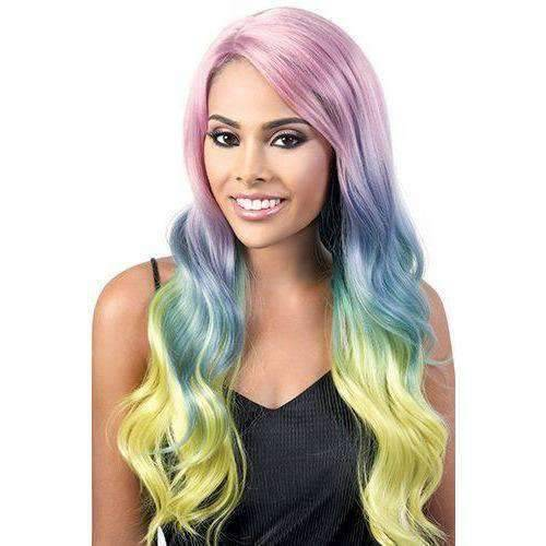 L. Angelic - Long Length Wavy Synthetic Wig | Motown Tress - African American Wigs