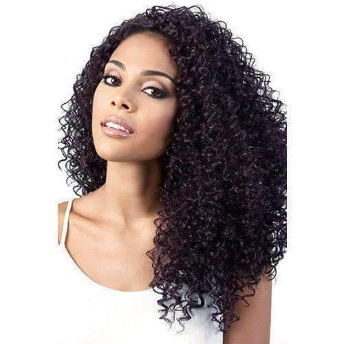 L. Kylar - Long Length Curly Synthetic Wig | Motown Tress - African American Wigs
